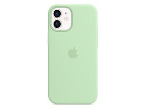 Apple iPhone Silikon Case mit MagSafe, für iPhone 12 mini, pistazie