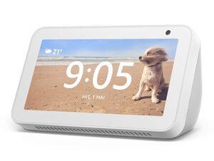 Amazon Echo Show 5, Smart Display mit Alexa, sandstein