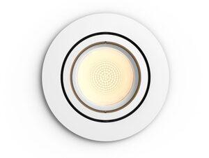 Philips Hue Centura Einbauspot, rund, für Hue Lichtsystem, weiß
