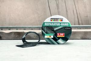 Powertec Color Reparatur-Band - Schwarz
