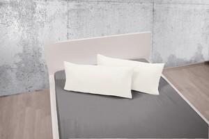 Dreamtex Bio-Jersey-Kissenbezüge, ca. 40 x 80 cm, Weiß - 2er-Set