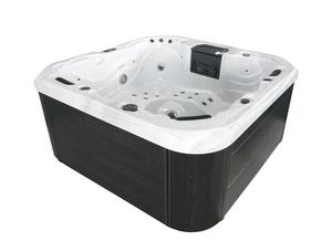 LAMAR Outdoor Whirlpool inkl. Abdeckung mit Wärmeisolierung MALAGA für 5 Personen
