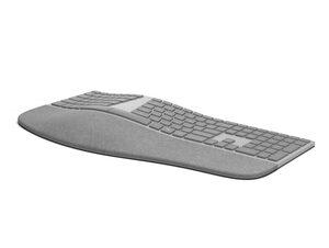 Microsoft Ergonomic Keyboard, für Surface, Bluetooth-Tastatur, grau