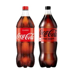 Coca-Cola (koffeinhaltig), versch. Sorten, jede 2-Liter-Flasche (+ 0,25 € Pfand)