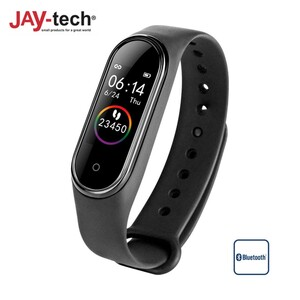 Fitness-Armband BT4 • Sportmodus: Schrittzähler, Distanz, Kalorienverbrauch • Blutdrucksensor, Pulsmesser • Schlafüberwachung • Push-Up Benachrichtigungen und Anrufe vom Smartphone •