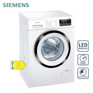 Waschautomat WM14N122 • iQdrive: energiesparendste und leiseste Motorentechnik • Spezialprogramme • Trommelreinigung • varioSpeed: bis zu 65 % verkürzte Waschdauer • Nachlege-Funktion