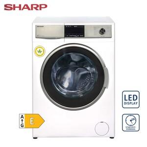 Waschtrockner ES-HDB87WD-DE • 15 Programme • Bubble-Drum-Edelstahltrommel für besonders sanfte Wäschepflege • antibakteriell beschichtetes Material • Maße: H 84,5 x B 59,7 x T 58,2 cm
