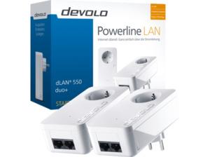 DEVOLO dLAN´ 550 duo+ Powerline Starter Kit