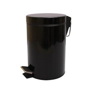 Kosmetikeimer BLACK - schwarz - 3 Liter