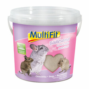 MultiFit Badesand für Chinchilla