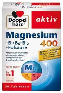 Doppelherz aktiv Magnesium 400 +B1+B6+B12 +Folsäure 6.43 EUR/ 100 g