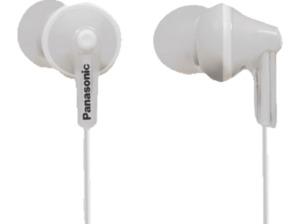 PANASONIC RP-HJE125 E-W, In-ear Kopfhörer, Weiß