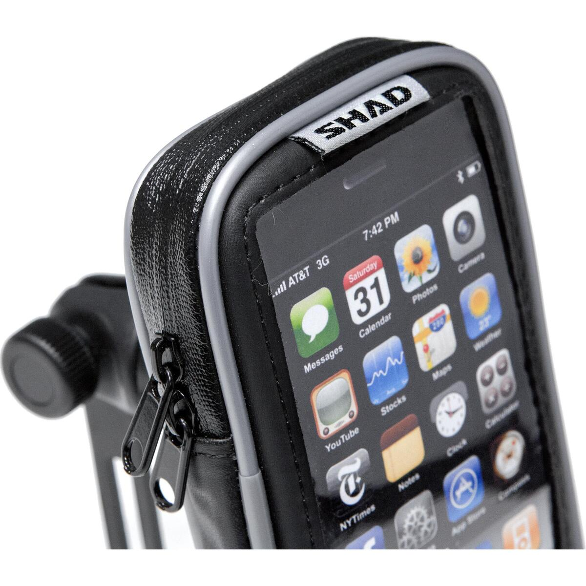 Bild 2 von SHAD Smartphone Tasche für Lenkerspiegel SG20M 3,8 Zoll