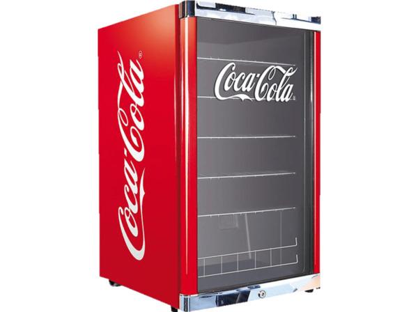 HUSKY HUS-CN 166 HighCube CocaCola Getränkekühlschrank, Flaschenkühlschrank, A+, 110 kWh, 835 mm hoch, Mehrfarbig