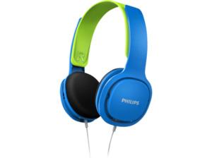 PHILIPS SHK 2000 Kopfhörer für Kinder blau/grün, Kabelgebundener Kopfhörer,  Kabel