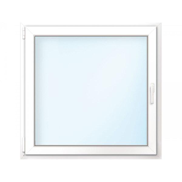 Fenster PVC 70/3 weiß/weiß Anschlag links 50x50 cm