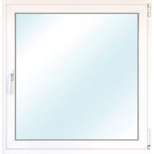 Fenster PVC 70/3 weiß/weiß Anschlag rechts 50x50 cm