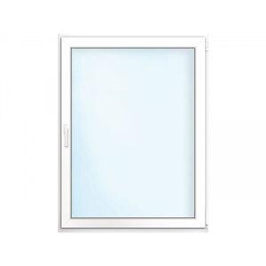 Fenster PVC 70/3 weiß/weiß Anschlag rechts 90x100 cm