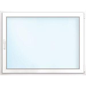 Fenster PVC 70/3 weiß/weiß Anschlag rechts 100x60 cm