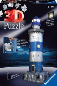 3D Gebäude Puzzle Leuchtturm bei Nacht 216 Teile