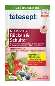 tetesept              Badesalz Rücken & Schulter