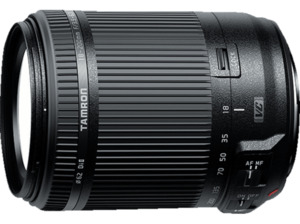 TAMRON 18-200mm f/3.5-6.3 Di II VC Canon 18 mm-200 mm Objektiv f/3.5-6.3, Zoomobjektiv, System: Canon, Bildstabilisator, Schwarz