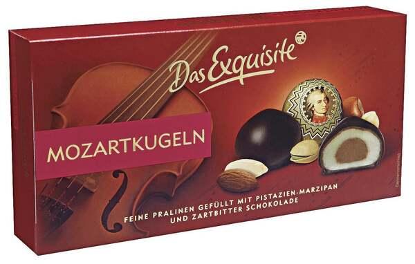 Das Exquisite              Mozartkugeln