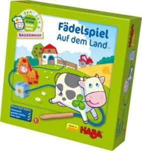 5580 Meine erste Spielwelt - Bauernhof Fädelspiel Auf dem Land