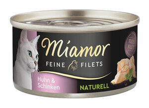 Miamor Feine Filets Naturelle im eigenen Saft 24x80g