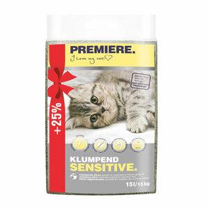 Premiere Sensitive Klumpstreu 15kg