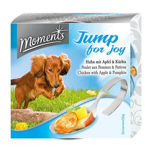 Moments Hund Jump for joy (Huhn mit Apfel & Kürbis) 10x125g
