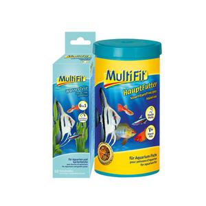 MultiFit Hauptfutter 1l + Wassertest