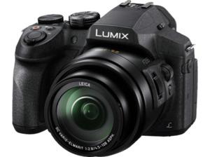 PANASONIC Lumix DMC-FZ 300 Bridgekamera, 12.1 Megapixel, 24x opt. Zoom, Hochempfindlichkeits-MOS Sensor, 25-600 mm (Foto), 28-672 mm (Video) Brennweite, Bildstabilisator, Schwarz