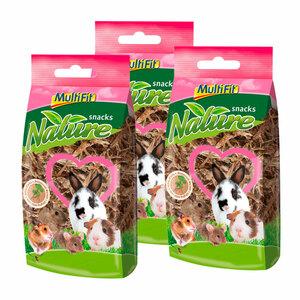 MultiFit nature snacks Brennnesselwurzel 3x30g