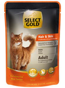 SELECT GOLD Sensitive Adult Hair & Skin 12x85g