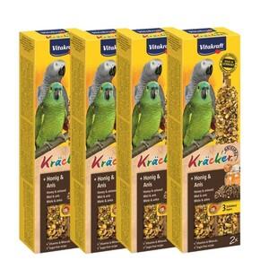 Vitakraft Papageien Kräcker 4x2er