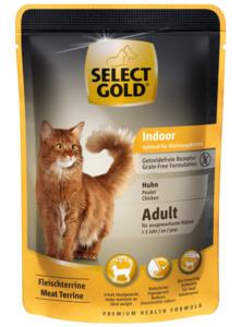 SELECT GOLD Sensitive Indoor Huhn 12x85g
