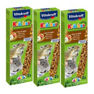 Vitakraft Kräcker Maus Corn&Fruit 3x2er