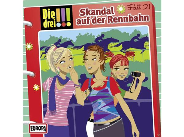 Die drei !!! 21: Skandal auf der Rennbahn - (CD)