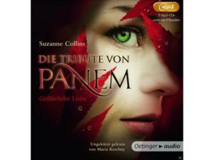 Die Tribute von Panem - Gefährliche Liebe - 2 MP3-CD - Kinder/Jugend