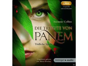 Die Tribute von Panem - Tödliche Spiele - 2 MP3-CD - Kinder/Jugend