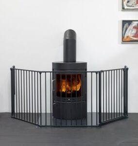 Konfigurationsgitter Flex L, schwarz, 90 - 224 cm