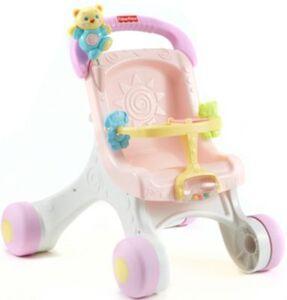 Fisher-Price - Lauflern-& Puppenwagen