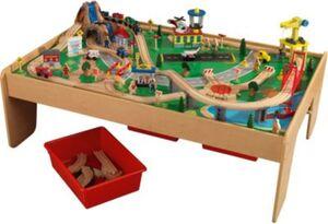 Spieltisch mit Eisenbahnset 120 Teile