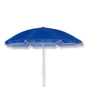 CleverPick Sonnenschirm - blau - Knickfunktion - Ø 160 cm