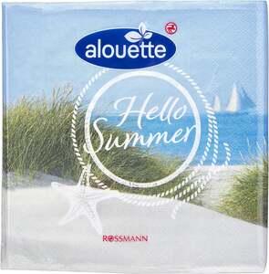 alouette alouette Serviette Maritim/Hello Summer