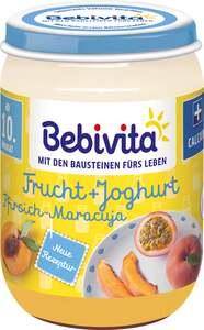 Bebivita Bio Frucht+Joghurt Pfirsich-Maracuja