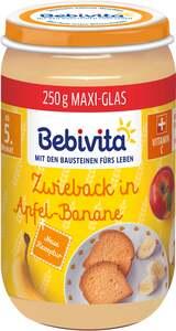 Bebivita Bio Zwieback in Apfel-Banane