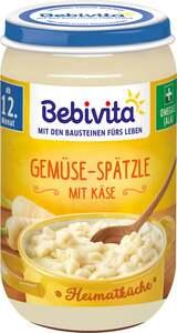 Bebivita Heimatküche - Gemüse-Spätzle mit Käse