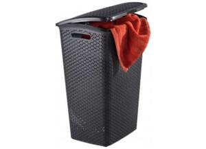 Curver Wäschebox 55l braun